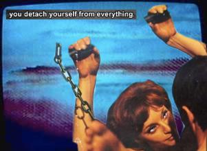 you detach yourself